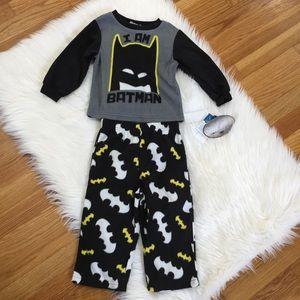 Batman Fleece Pajama Set